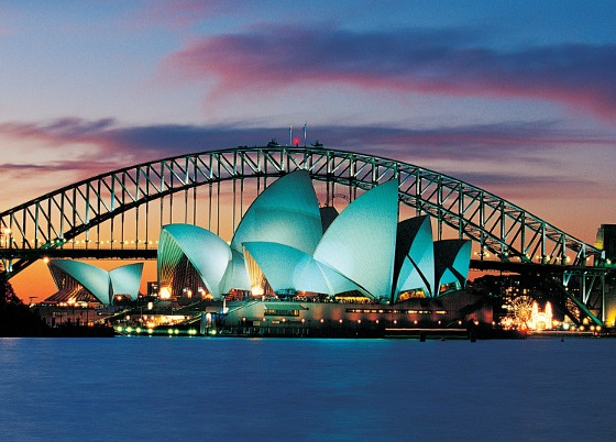 Sydney Harbour Bridge & Sydney Opera House