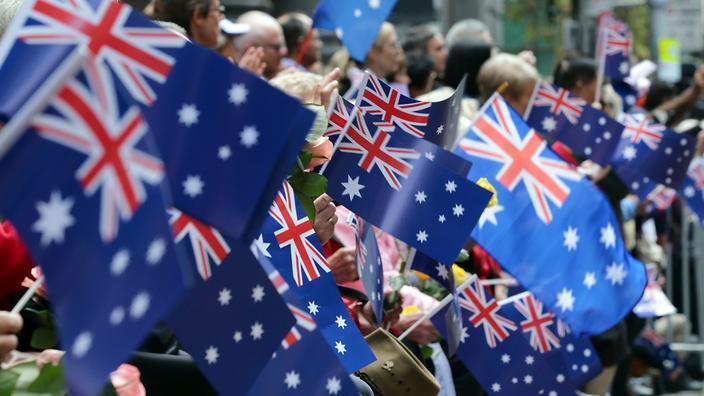 Store begivenheder i Australien