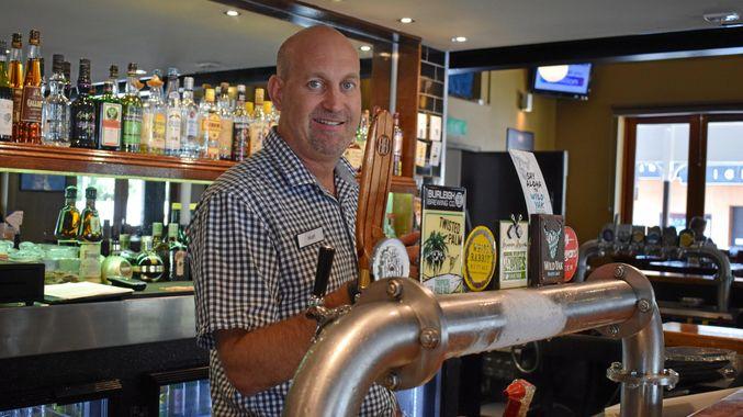 serving beer in Australia