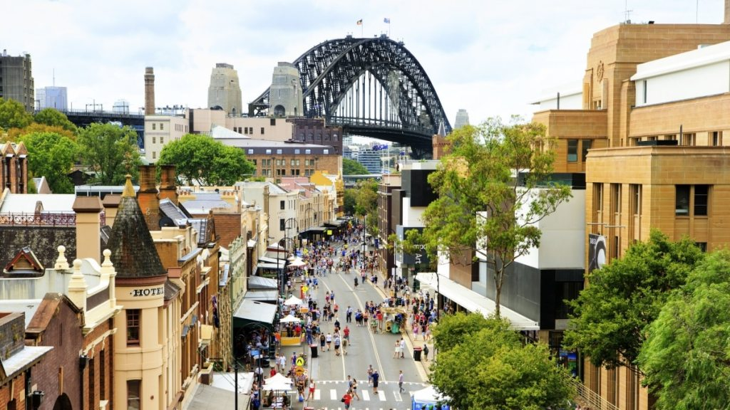The Rocks i Sydney