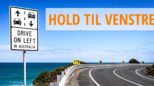 Om at køre bil i Australien