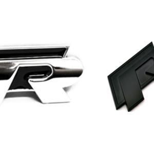 vw R volkswagen R emblem