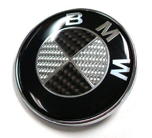 bmw kolfiber emblem