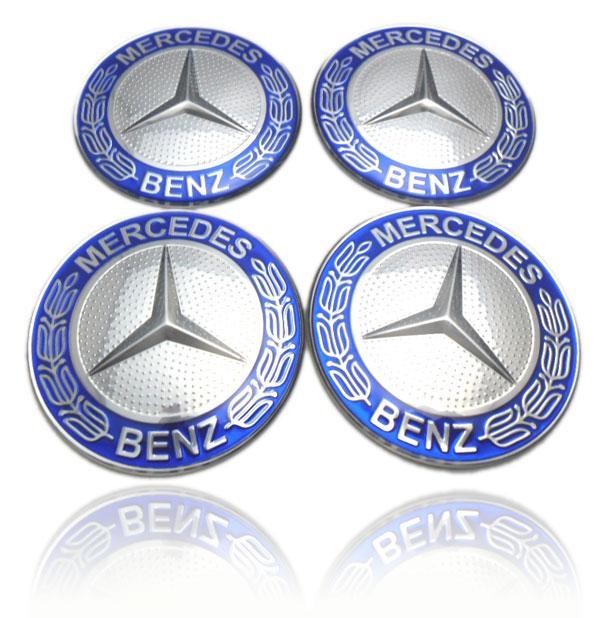 mercedes hjulnav emblem fälgemblem