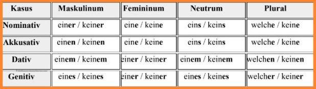 الضمائر المبهمة فى اللغة الألمانية 6