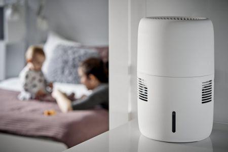 Ewaporacyjny nawilżacz powietrza Klarta Humea WiFi