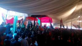 @gabeeno Workers convention on #PPPFoundationDay in Lahore Jiyay PPP