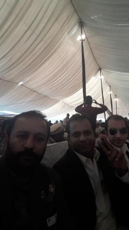 @MirSohrab At Bilawal House in Youm e Tahsis PPP Convention @BBhuttoZardari @JavedNayab77743 @AseefaBZ @BakhtawarBZ @Majid_Agha