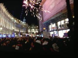 @sara_firth Some Surreal Moments, Some Tense Moments, Fireworks & A Huge Turnout - #London's #MillionMaskMarch 2014 in summary