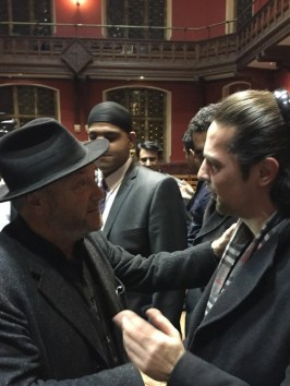 @shehryar_taseer Met the great @georgegalloway at the Oxford Union