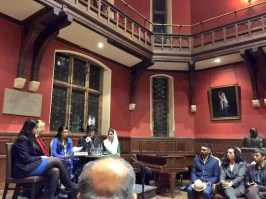 @TeamBilawalPPP An event marked at @OxfordUnion with tributes to the global icon Benazir Bhutto #BhuttoReturns #ZindaHainBibi