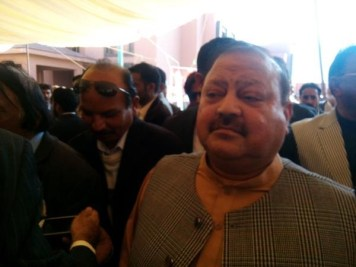 @bonbondude Barrister Sultan arrives at #PPPFoundationDay 2nd Leg Celebrations #PPPHawks #KashmirIsPakistan
