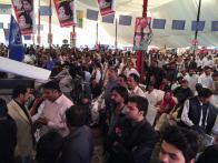 @drkhanns #PPPFoundationDay Janoon at Extreme & Jayalas spirit at high sky @BBhuttoZardari @AseefaBZ