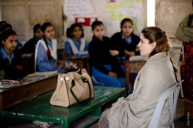 @AlifAilaan MNA @ShaziaAttaMarri at a govt school for some animated storytelling and career counseling #LeadingThroughTeaching 1