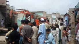 @ibrohi31 PS128 #PPP Govt bodies were alert and have been mobilised to prevent inconvenience during the rainy season #Karachi 2