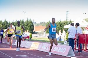 Aminé Laalou ganador del 1500m, Reunión Internacional Villa de Bilbao