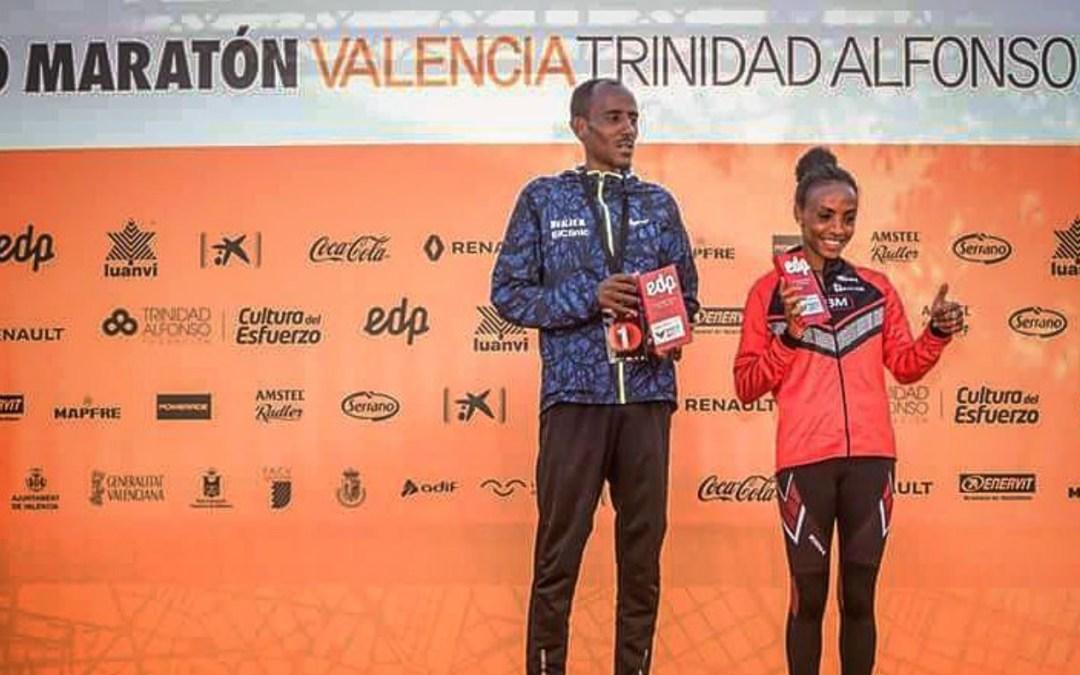 Record de España de Media Marathon para Trihas Gebre