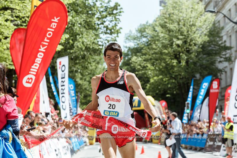 Batir la mejor marca de la carrera hecha en 2010 por Manuel Olmedo, primer objetivo de la organización.
