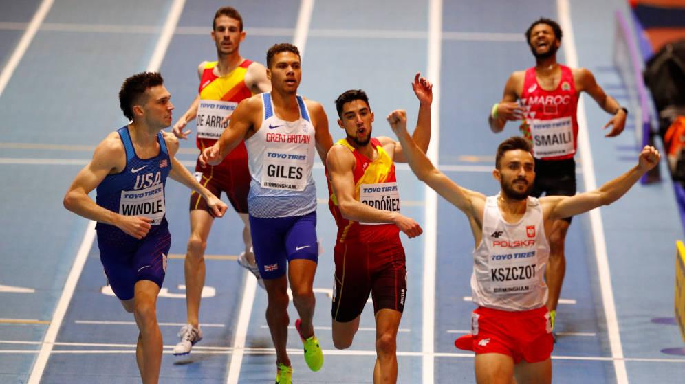 Saúl Ordoñez, medallista de bronce de 800m en el último mundial correrá en Bilbao