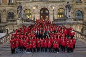 Presentación Bilbao Atletismo Santutxu 2018