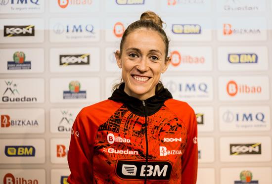 Virginia Pérez desafía a la montaña