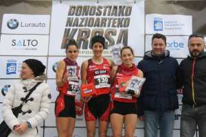 Podio Campeonato Euskadi Master