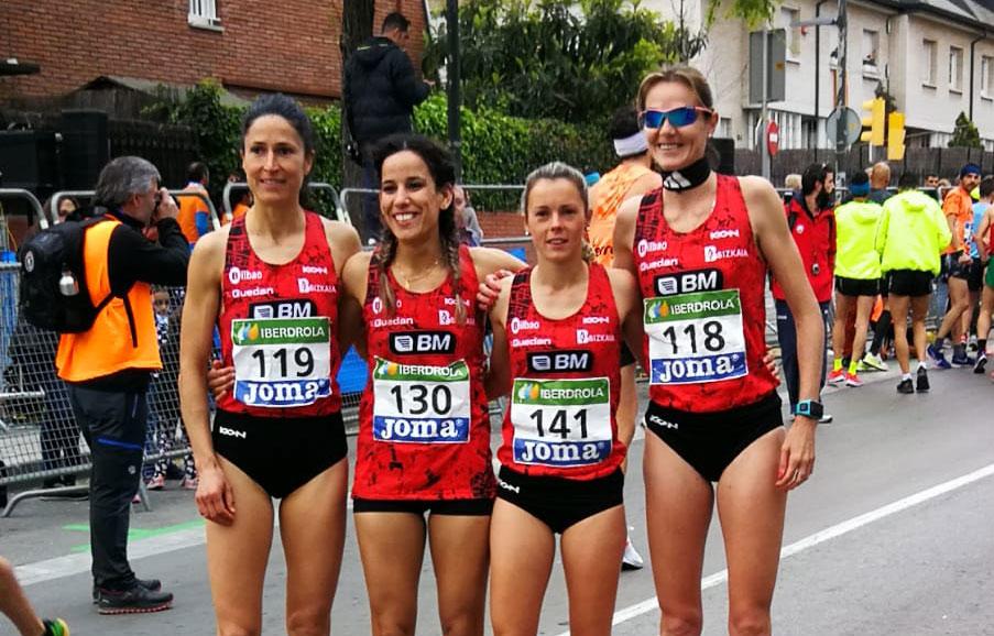 Triplete del BM Bilbao en el nacional de Media Maraton