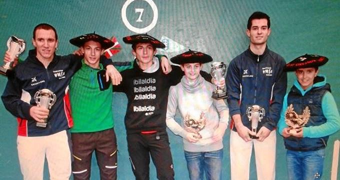 Adiskide Pelota Elkartea de Galdakao se hace con el primer campeonato de clubes