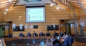 Presentación del balance 2014  en las Juntas Generales.