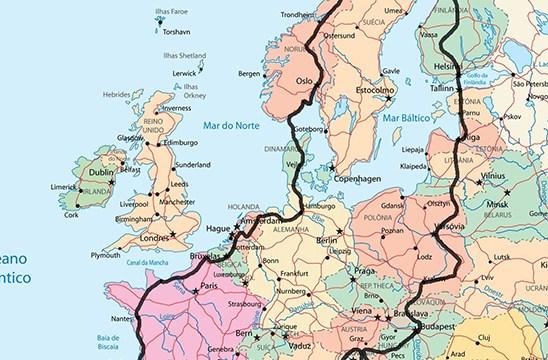 Frantzia eta Norvegia, autokarabanaz bidaiatzeko Europako paradisu