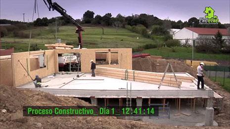 Una empresa de la construcción esquiva la crisis del sector y crece al apostar por el modelo de casas ecoeficientes