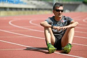 El atleta paralímpico Javier Conde. / Foto: www.vamosacorrer.com.