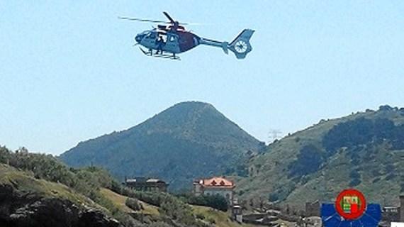 La Ertzaintza realiza dos rescates a tres montañeros en la jornada del domingo