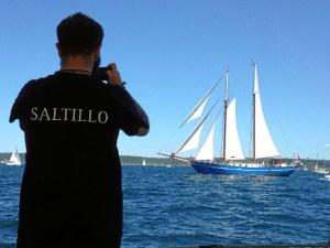 embarcaciión El Saltillo.