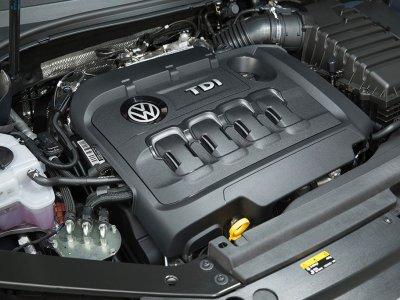 Volkswagen Diesel Engine. Volkswagen PR.