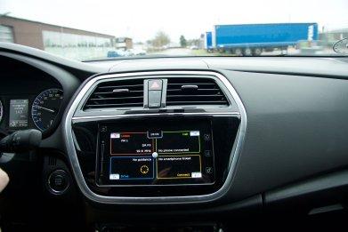 Suzuki S-Cross Infotainment