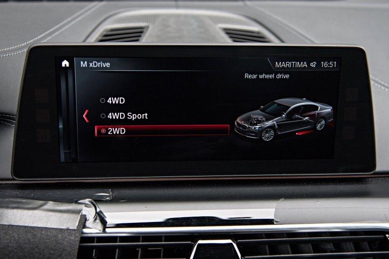 2018 BMW M5 Infotainment