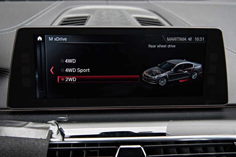 2018 BMW M5 Infotainment
