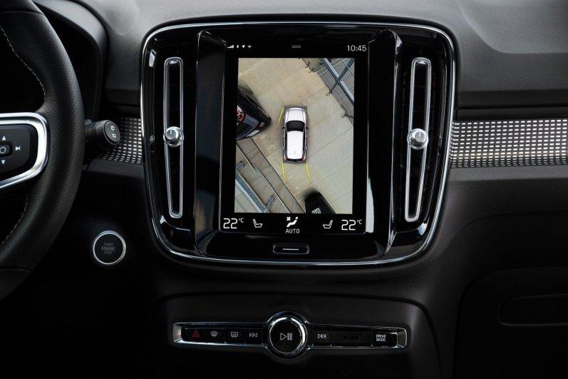 New Volvo XC40 - 360 camera