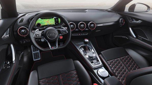 Audi TT RS Roadster interiør