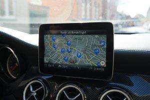 Mercedes-Benz GLA 200 Final Edition navigation