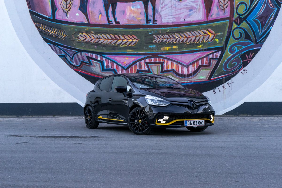 Renault Clio RS forfra