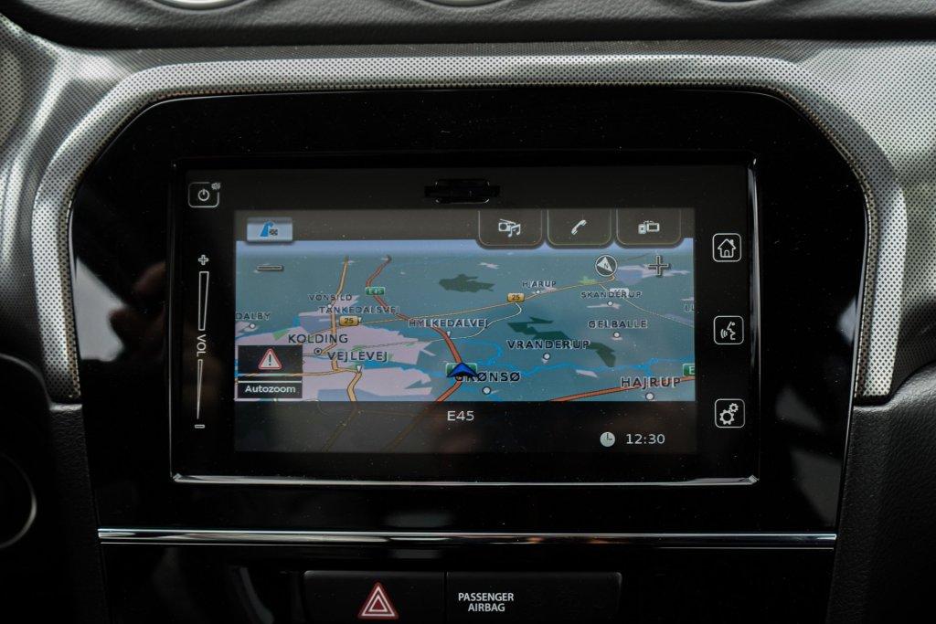 Suzuki Vitara navigation