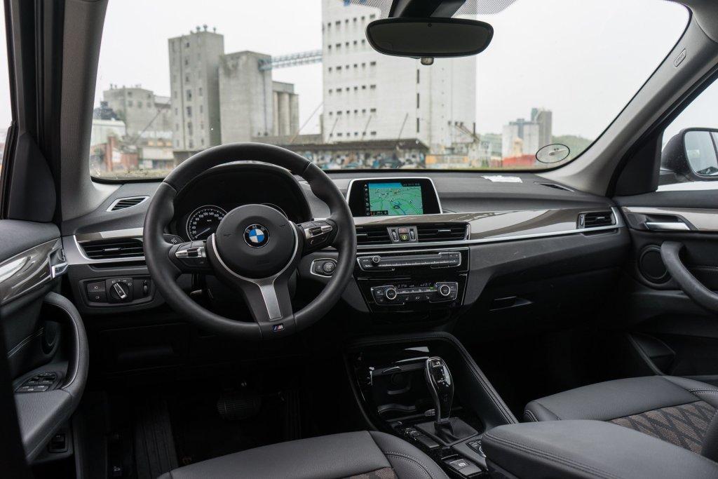 BMW X1 interiør