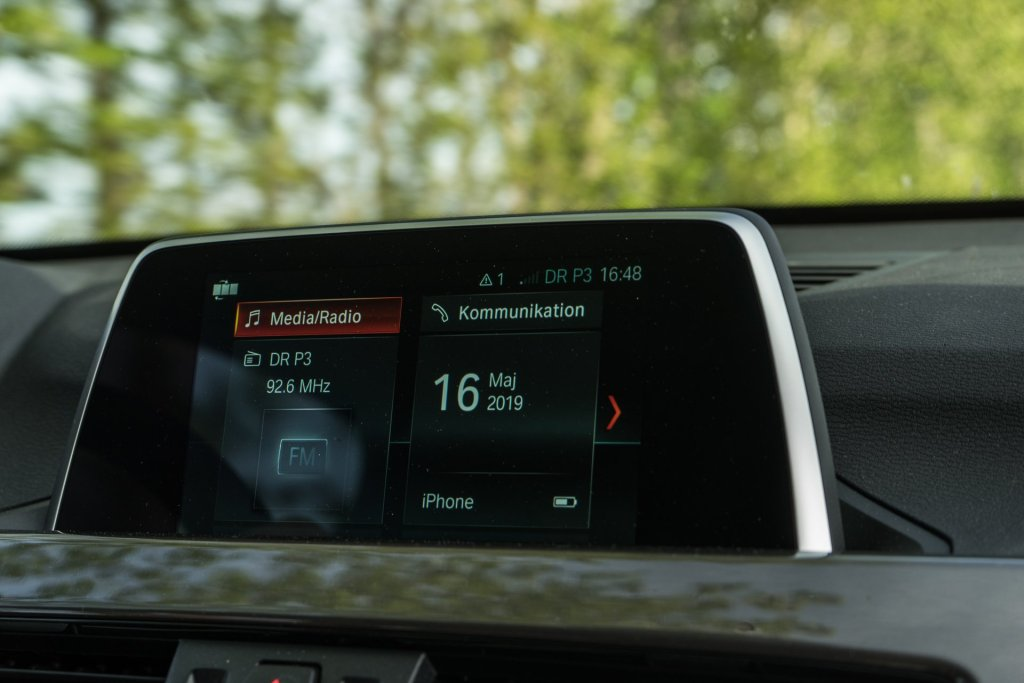 BMW X1 infotainment