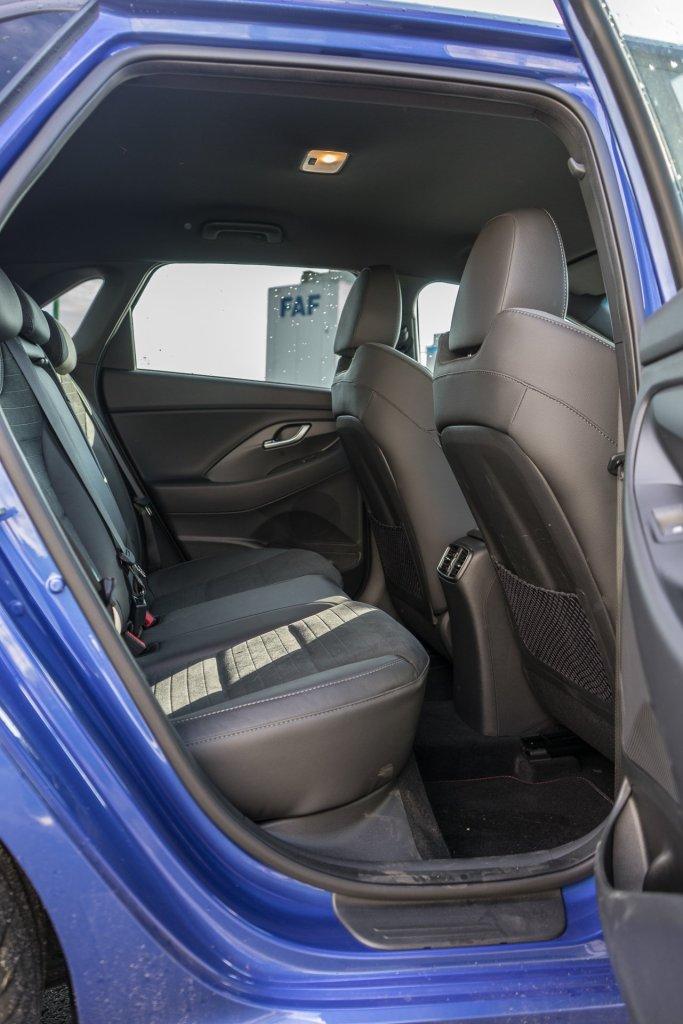 Hyundai i30 N-Line bagsæde