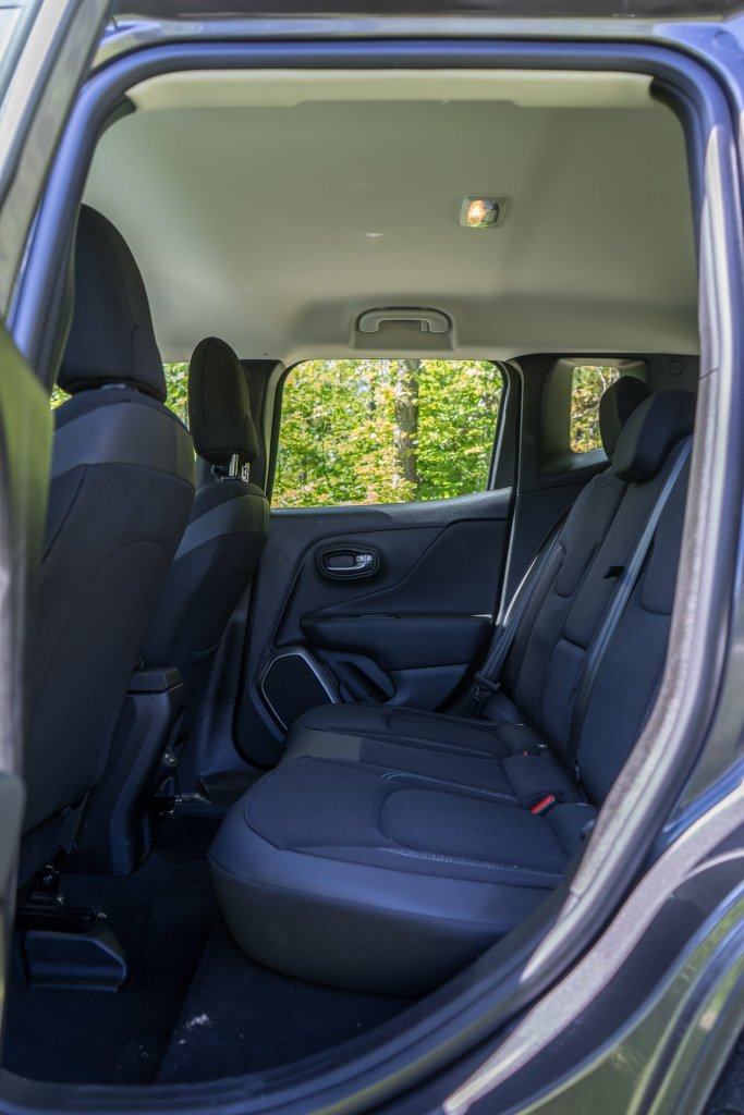 Jeep Renegade bagsæde