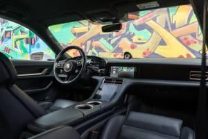 Porsche Taycan interiør