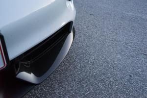 Porsche Taycan front diffuser