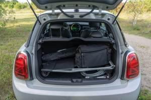 MINI Cooper SE bagagerum